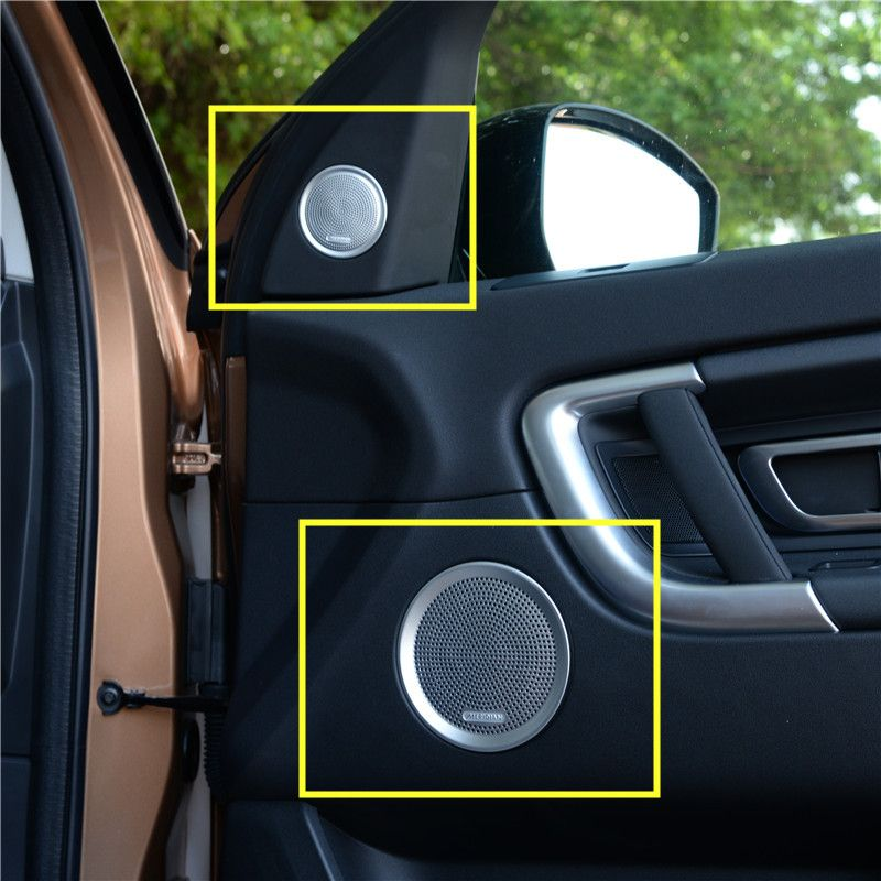 Affordable 4 Door Sports Car: Inner Car Door Speaker Cover Trim For Land Rover Discovery