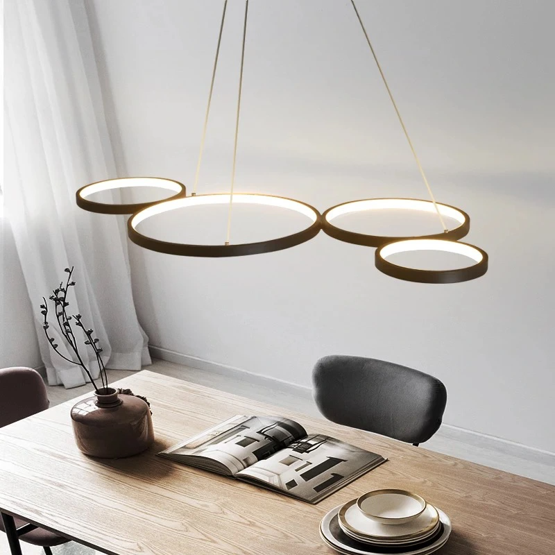 Lampa Wiszaca Wstega Zyrandol Led Modern 9655424576 Allegro Pl Led Pendant Lights Pendant Light Interior Deluxe