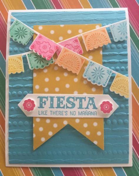 """Fiesta - SU - """"Birthday Fiesta"""" stamp set"""