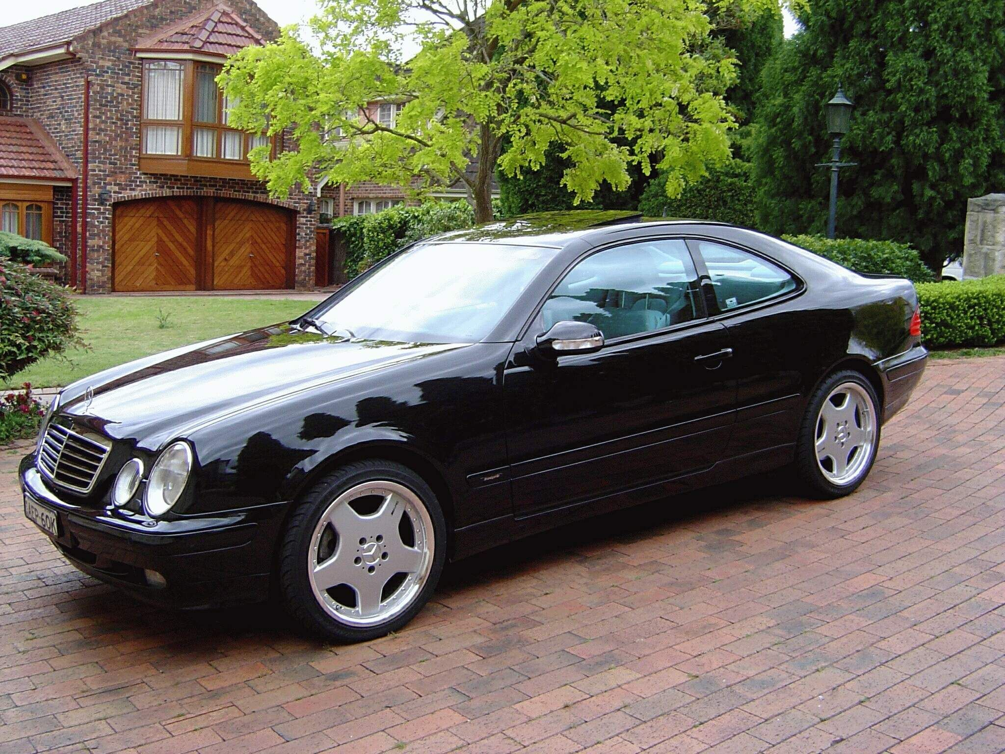 CLK 430 in black, natch. Owned from 20012003/4. One bad