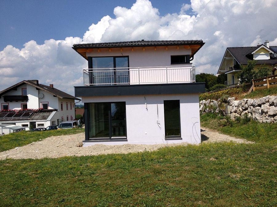 Schlüsselfertiges Massivhaus Spektralhaus: Fertighaus In Mattsee - Flexible Fertighaus