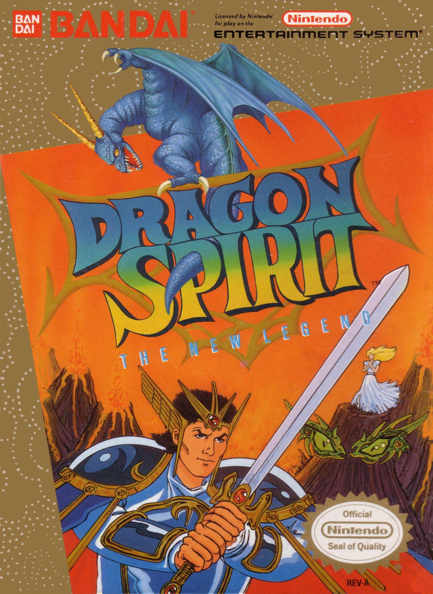 Dragon Spirit - The New Legend (Bandai, 1989) #nintendo #nes #