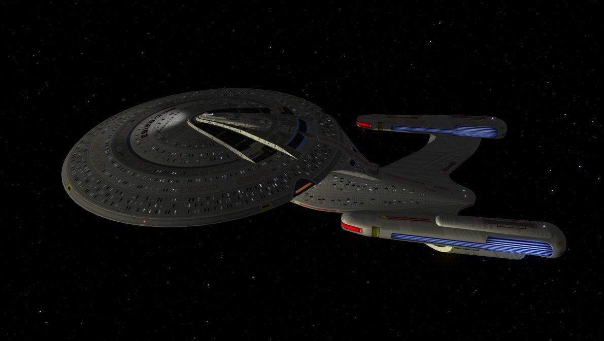 Galaxy Class 2390 Refit 2 by enterprisedavid   All things