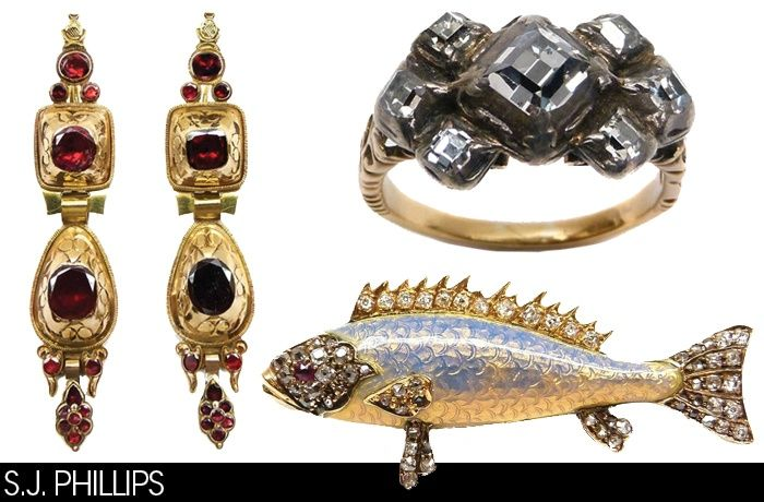 Jewelry from S.J. Phillips