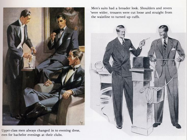 Image Result For 1930s Mens Working Class Fashion Mens Fashion