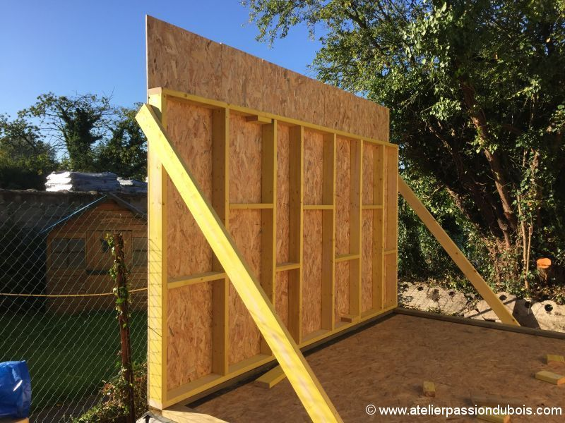 construction atelier bois part4 Construction du0027un atelier en