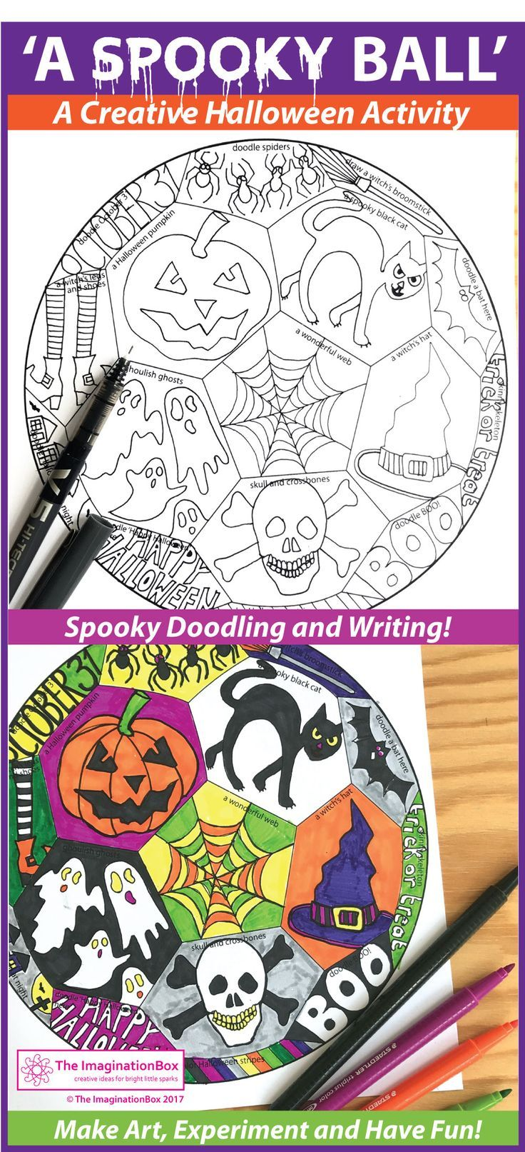 Halloween Art Project Printable