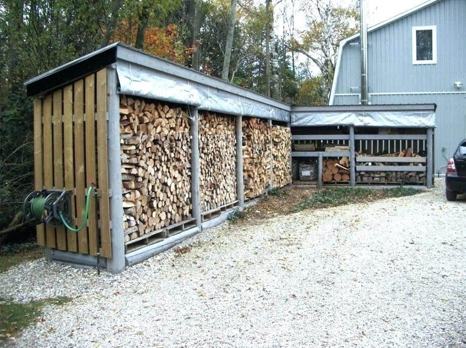 10 Charming Diy Outdoor Storage Ideas Outdoor Firewood Rack