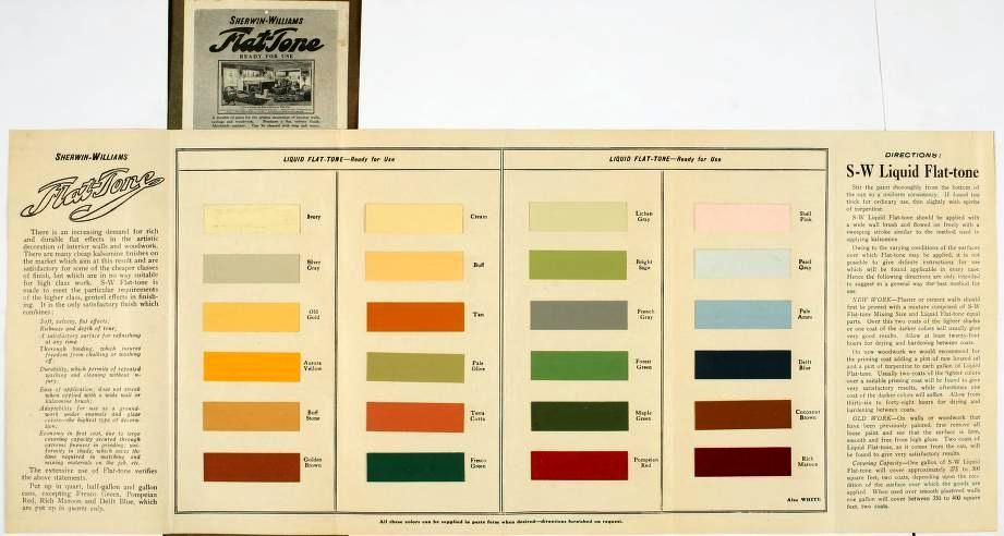 Sherwin williams style portfolio 1908 paint colours - Sherwin williams exterior paint colors chart ...