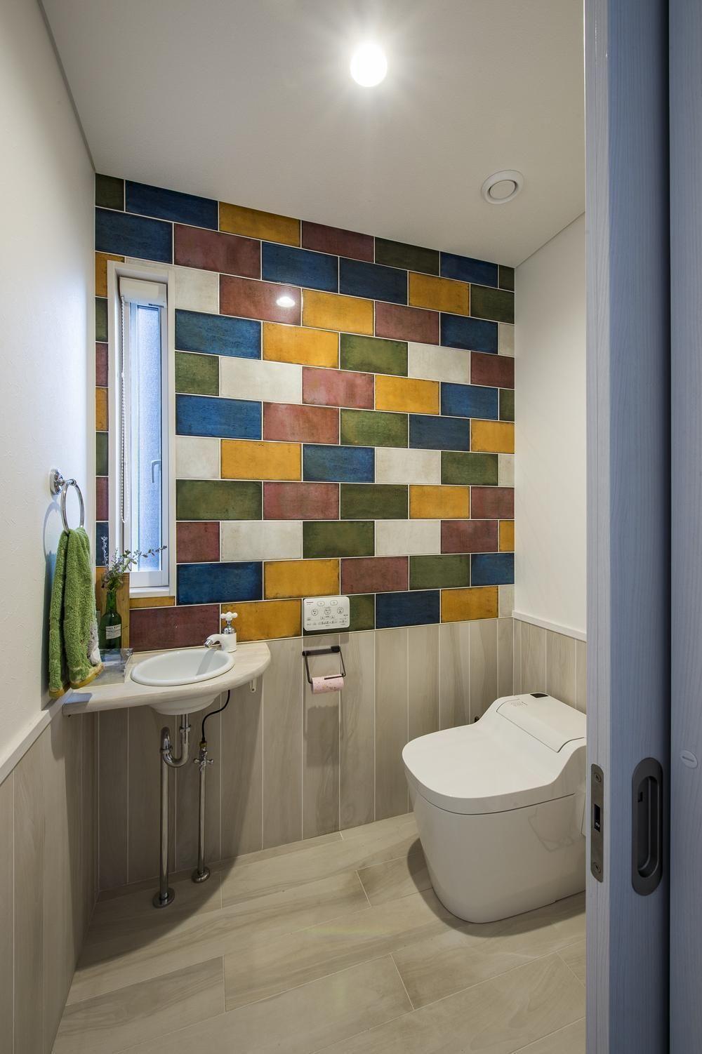 みんなの家のおしゃれなトイレ画像30選 壁紙 タイル 自慢したくなる