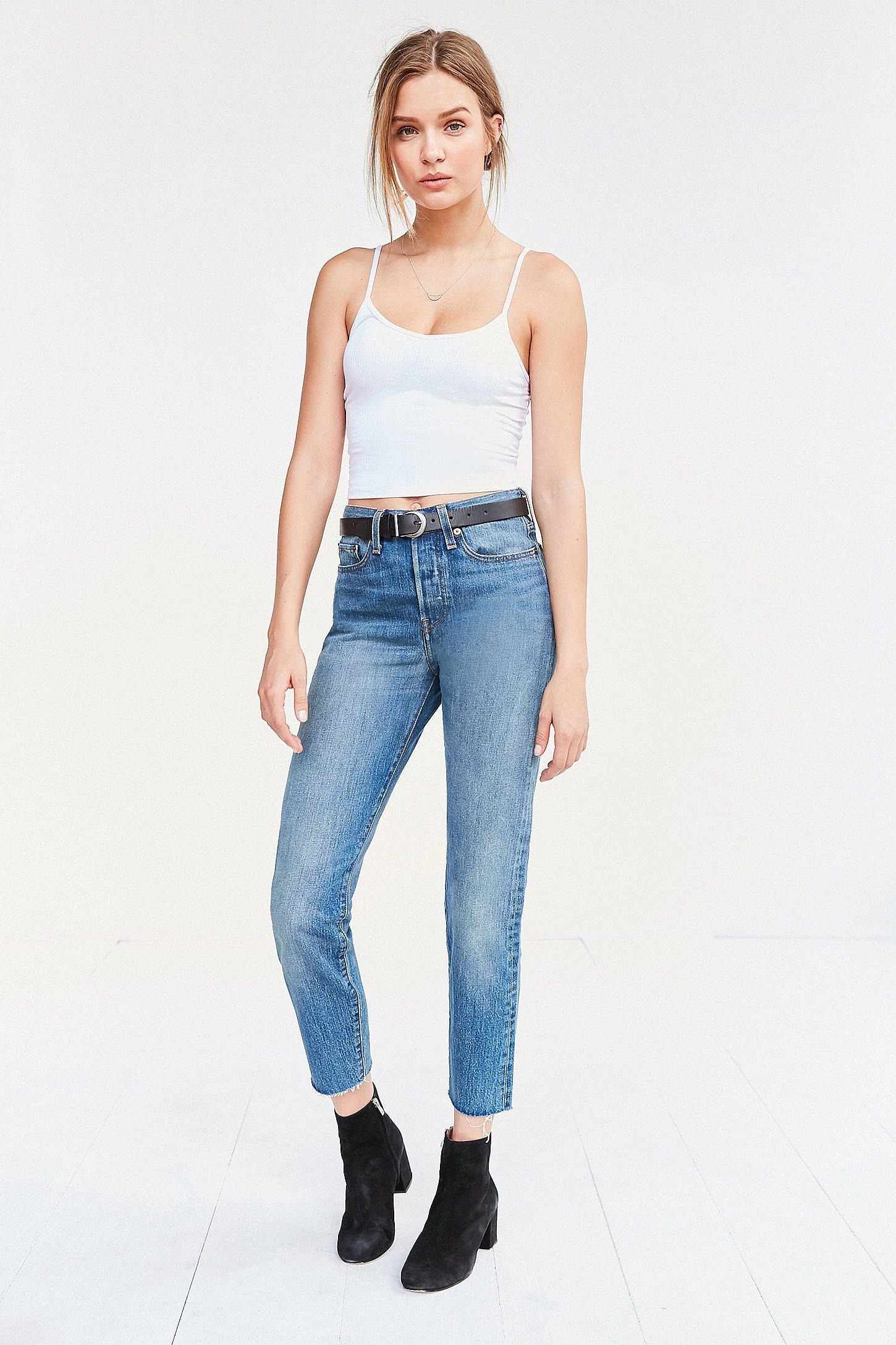 Levi's Wedgie High-Rise Jean - Coyote Desert