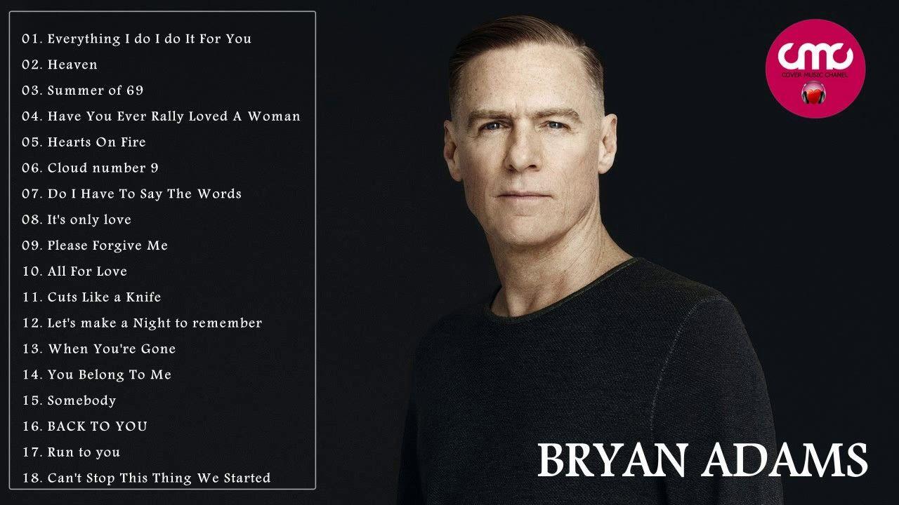Bryan Adams albums and songs sales