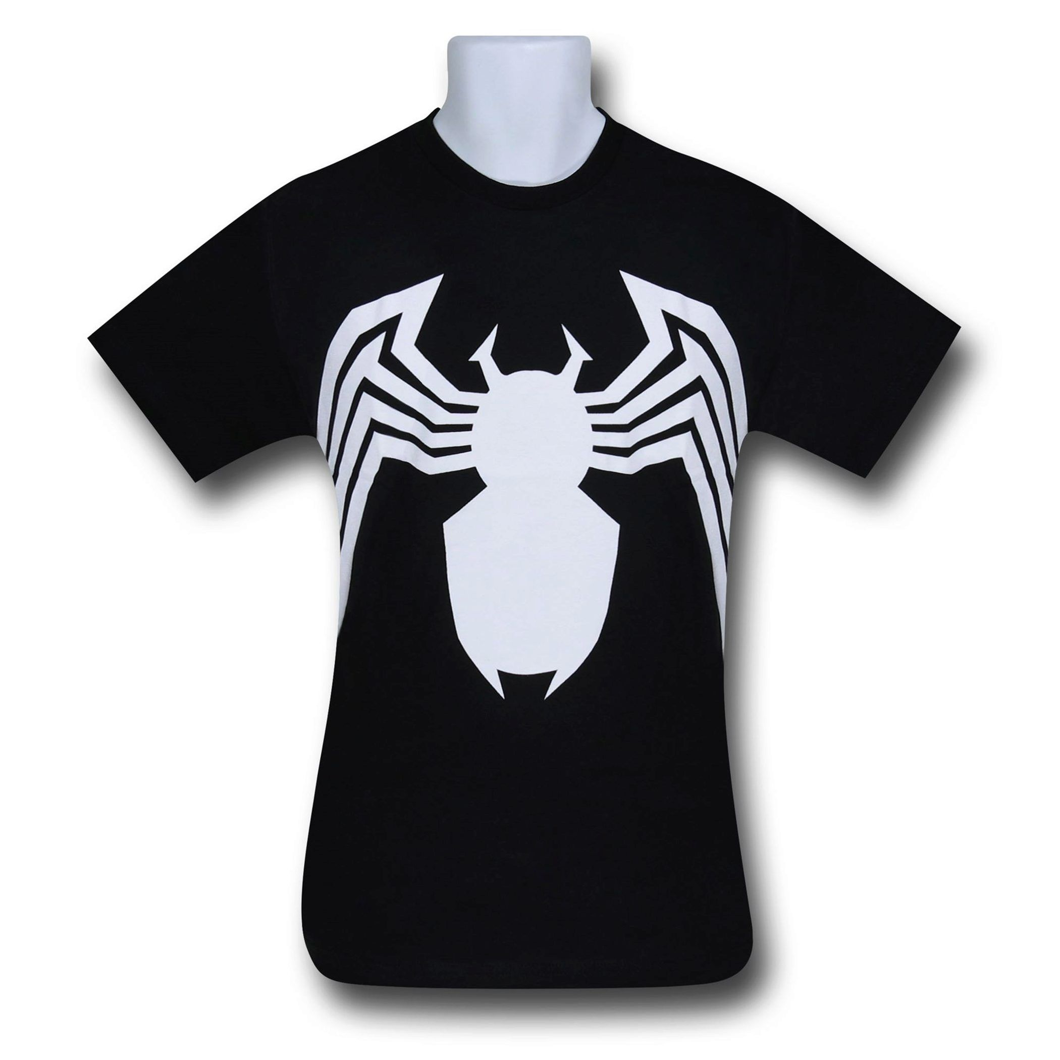 Spider Man Venom Short Sleeve T Shirt Venom Venom Symbol And