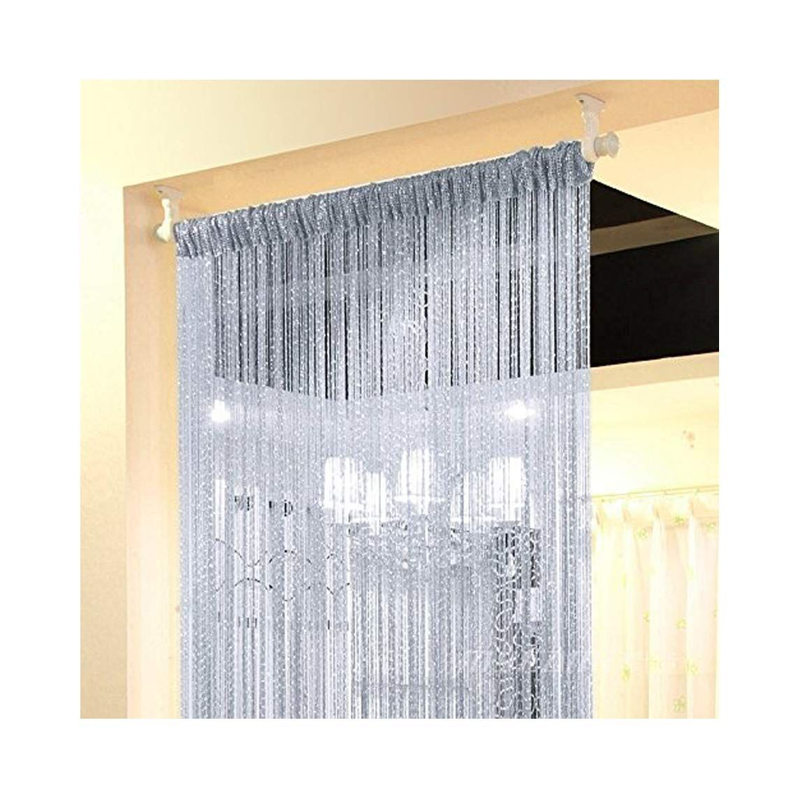 Pin On Door Curtains
