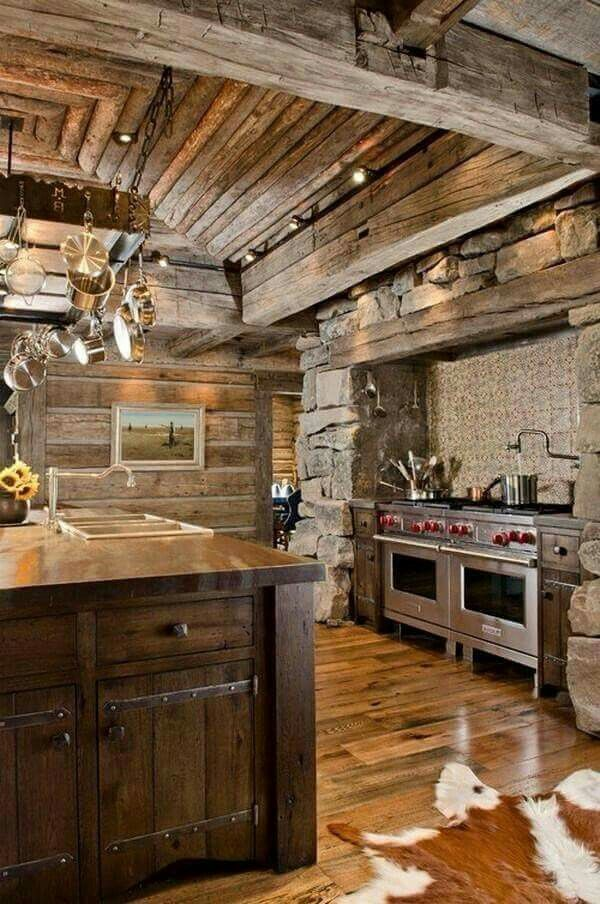 Great Rustic Kitchen Millionaire Dreams Pinterest Rustic