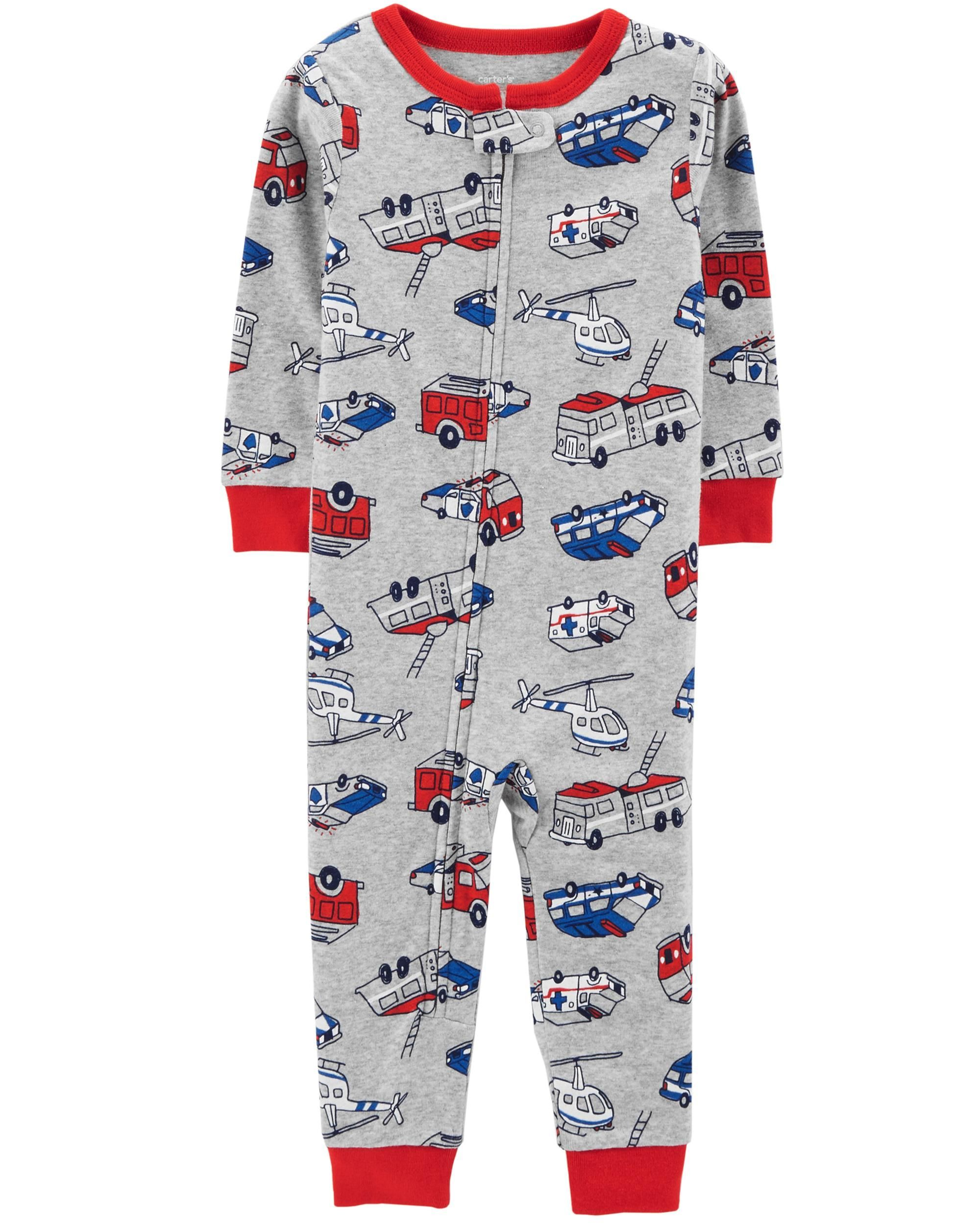 3ed28df9ca 1-Piece Hero Snug Fit Cotton Footless PJs