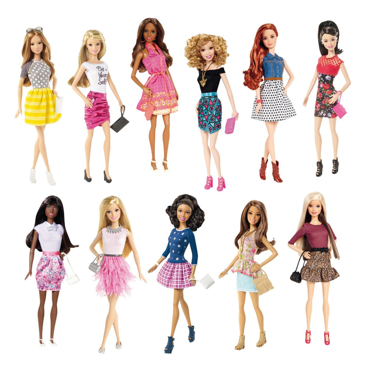 Muñeca Barbie Fashionista Mattel   Fernanda   Barbie ...