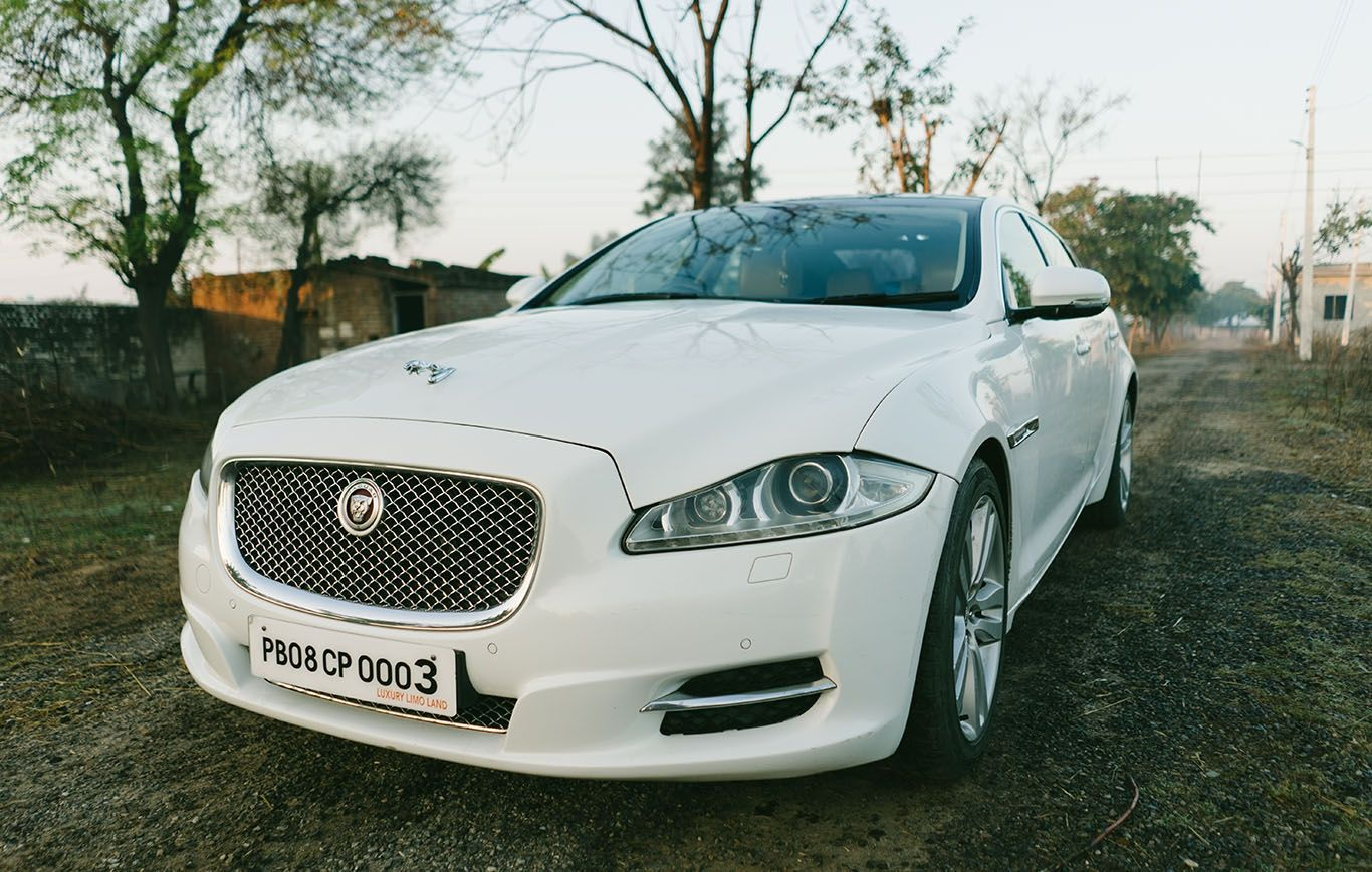 Best Luxury Wedding Car Jaguar Xjl In Punjab And Other Major Cities Of Punjab We Provide You Best Car Rentals In Pun Best Car Rental Jaguar Xjl Luxury Cars