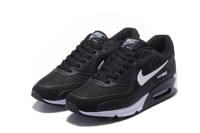 sale retailer 0e0c5 6d5ea Nike Air Max 90 KPU Black White