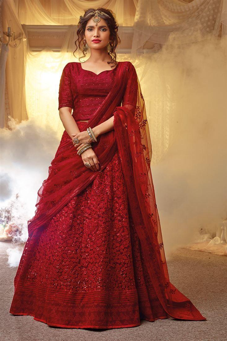 Hit Bollywood Festival Wedding Dress Muslim Women Indian Lehenga Choli Dupatta