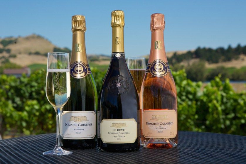 Domaine Carneros Sparkling Wines For Thanksgiving Wines