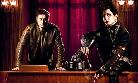 Mikael Blomkvist (Michael Nyqvist) & Lisbeth Salander (Noomi Rapace) in The Girl with the Dragon Tattoo Trilogy, novels by Stieg Larsson
