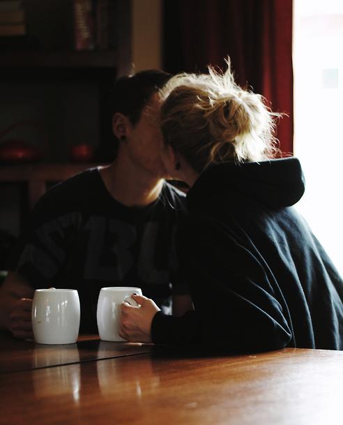 so cute (: coffee love, love over coffee