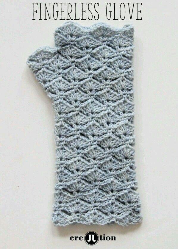Kışın güzel bir eldiven | Fingerless gloves | Pinterest