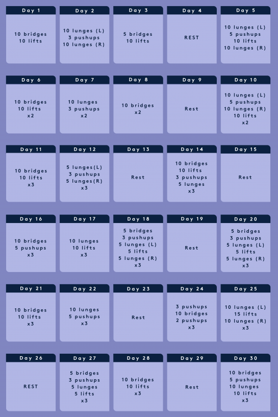 The Full Body 30 Day Challenge You Can Do At Home