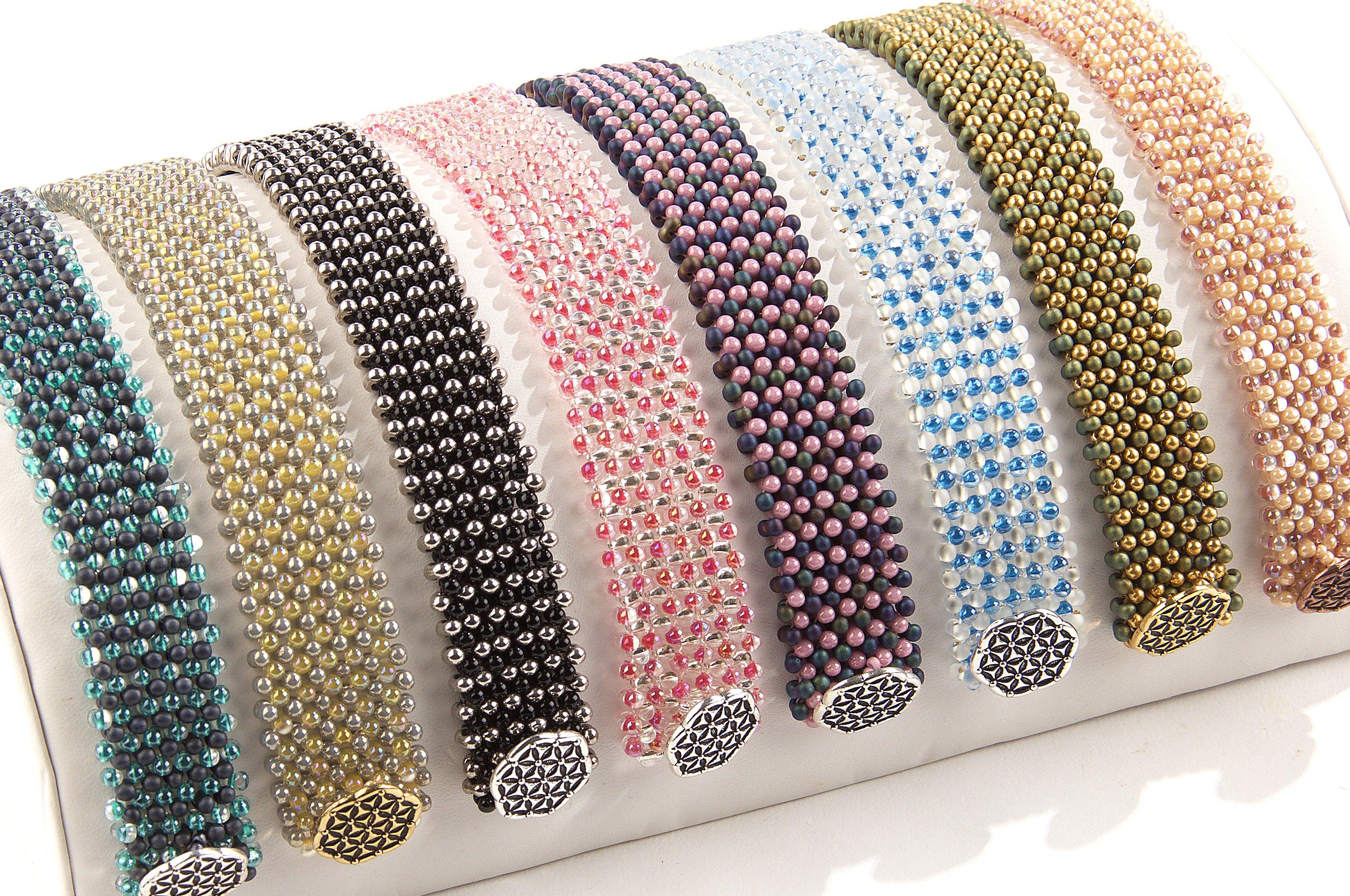 Berry bead bubble bracelet seed bead bracelet patterns