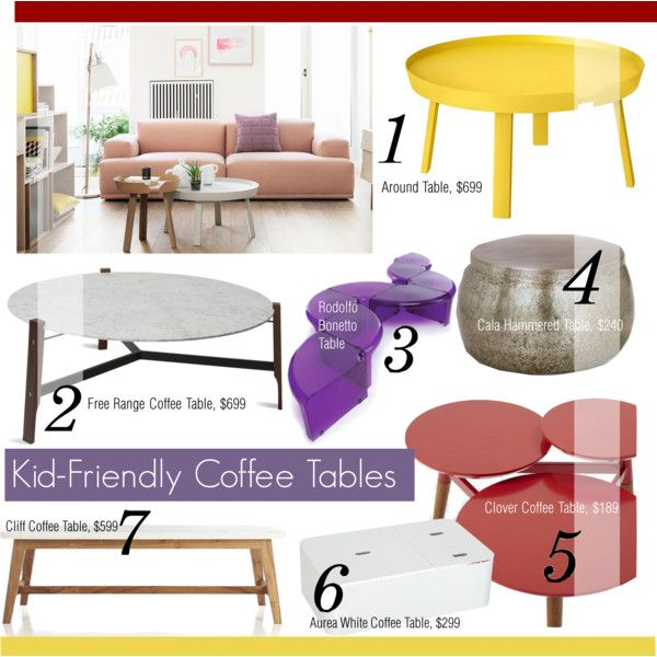 7 Kid Friendly Coffee Tables Coffee Table Home Decor Kid