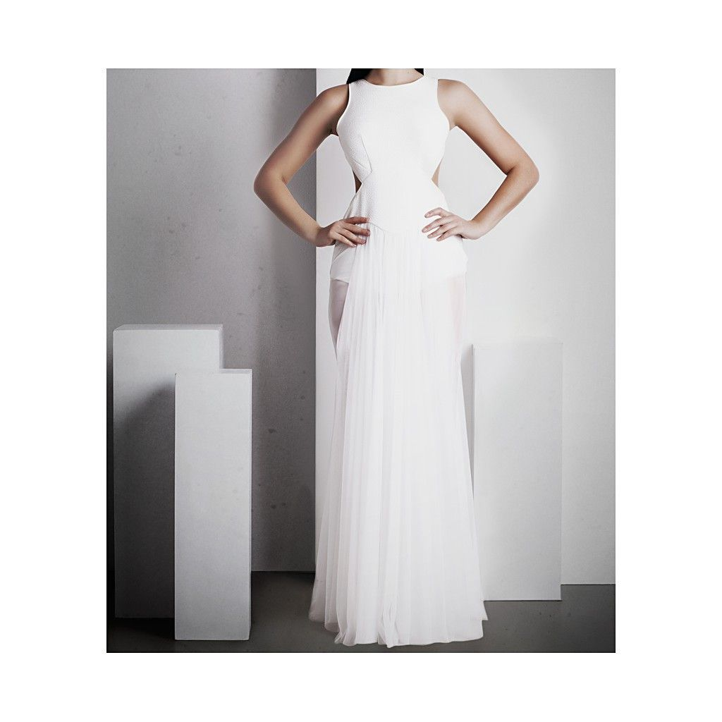 Grecian goddess white gown dresses pinterest full length