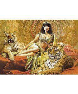 JOHAN VOSS, CLEOPATRA | Schlafzimmer | Pinterest | Ägyptische ...