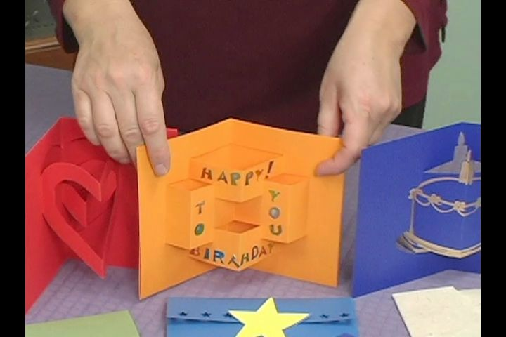 Video How to Make Childrens PopUp Cards manualidades Pinterest