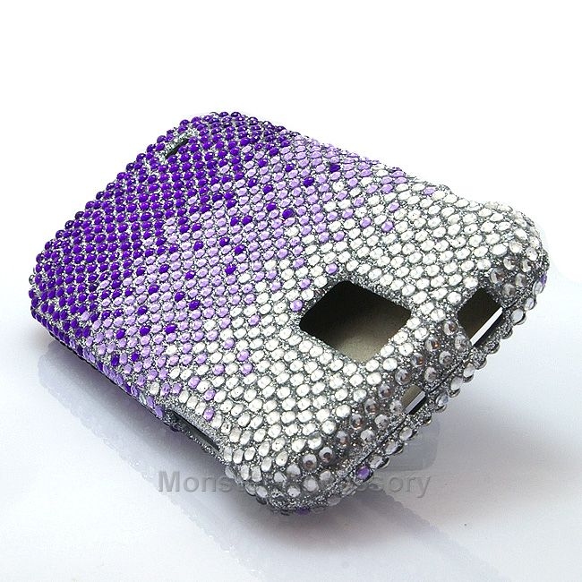 The purple splash bling hard case snap on cover for the Samsung Galaxy S2 Hercules T-Mobile is a very stylish cover case that brings the shine out on your Galaxy S2! Very affordable and we also have a variety of different bling designs. With tiny beads attached one by one this cover case will keep your phone protected from scratches and scuffs.