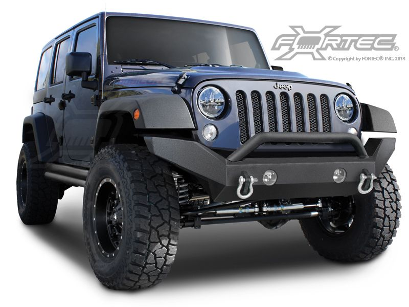 Or Fab Front Full Width Bumper Without Winch Mount For 07 14 Jeep Wrangler Jk Jk Unlimited Jeep Wrangler Jk Jeep Wrangler Bumpers Jeep Accessories