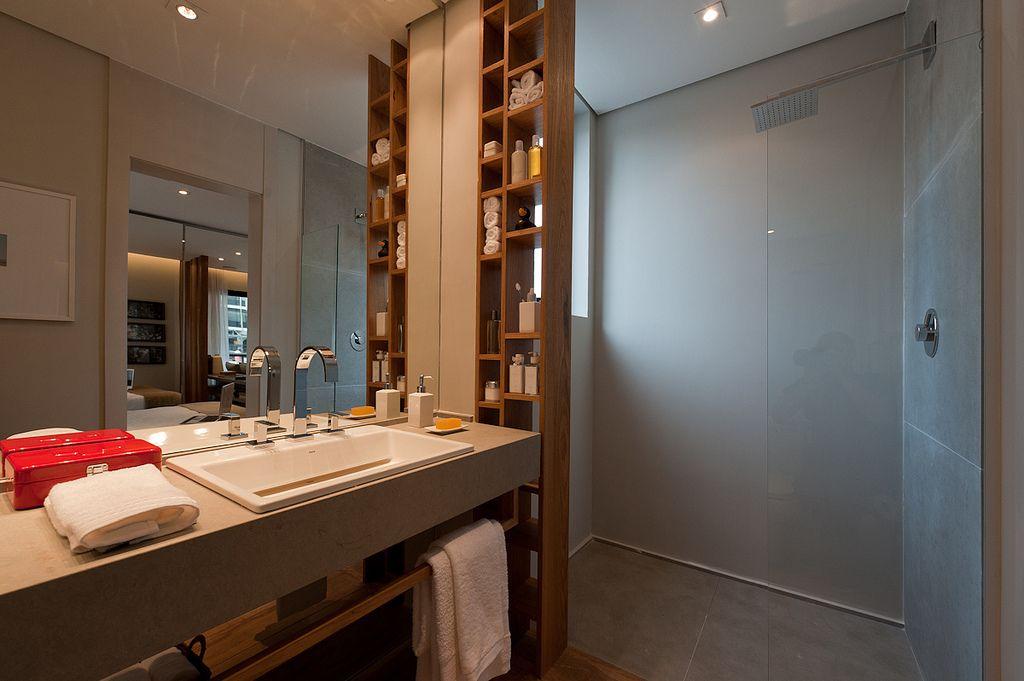 Decoração - Limited Funchal Banheiro em cimento queimado