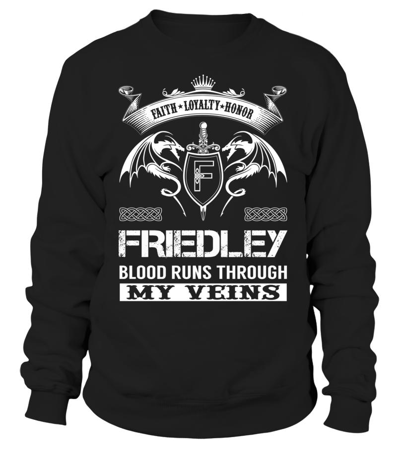 FRIEDLEY Blood Runs Through My Veins