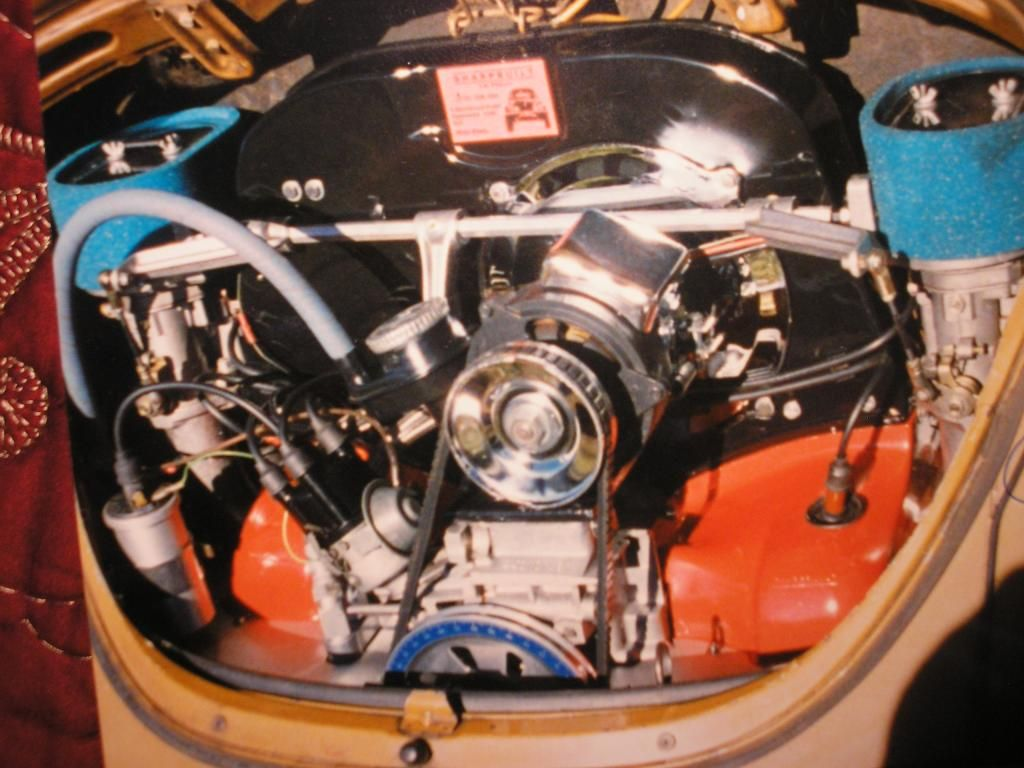 Upright type IV in a beetle | Air-Cooled engine