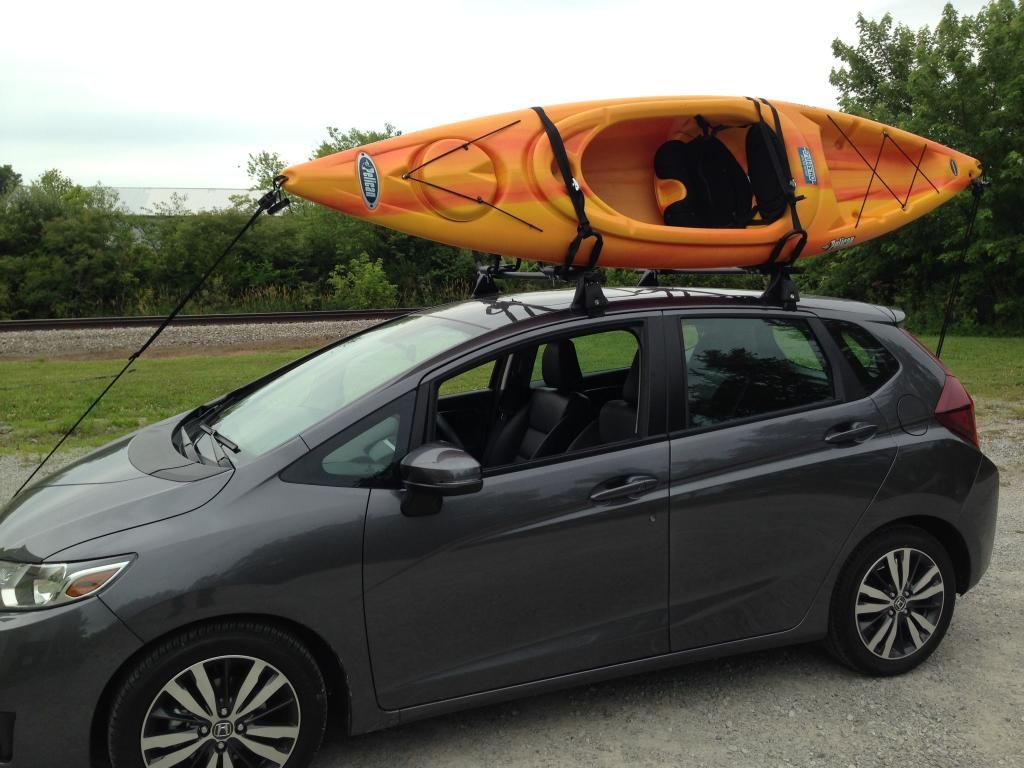 Roof Rack Page 2 Unofficial Honda Fit Forums Auto