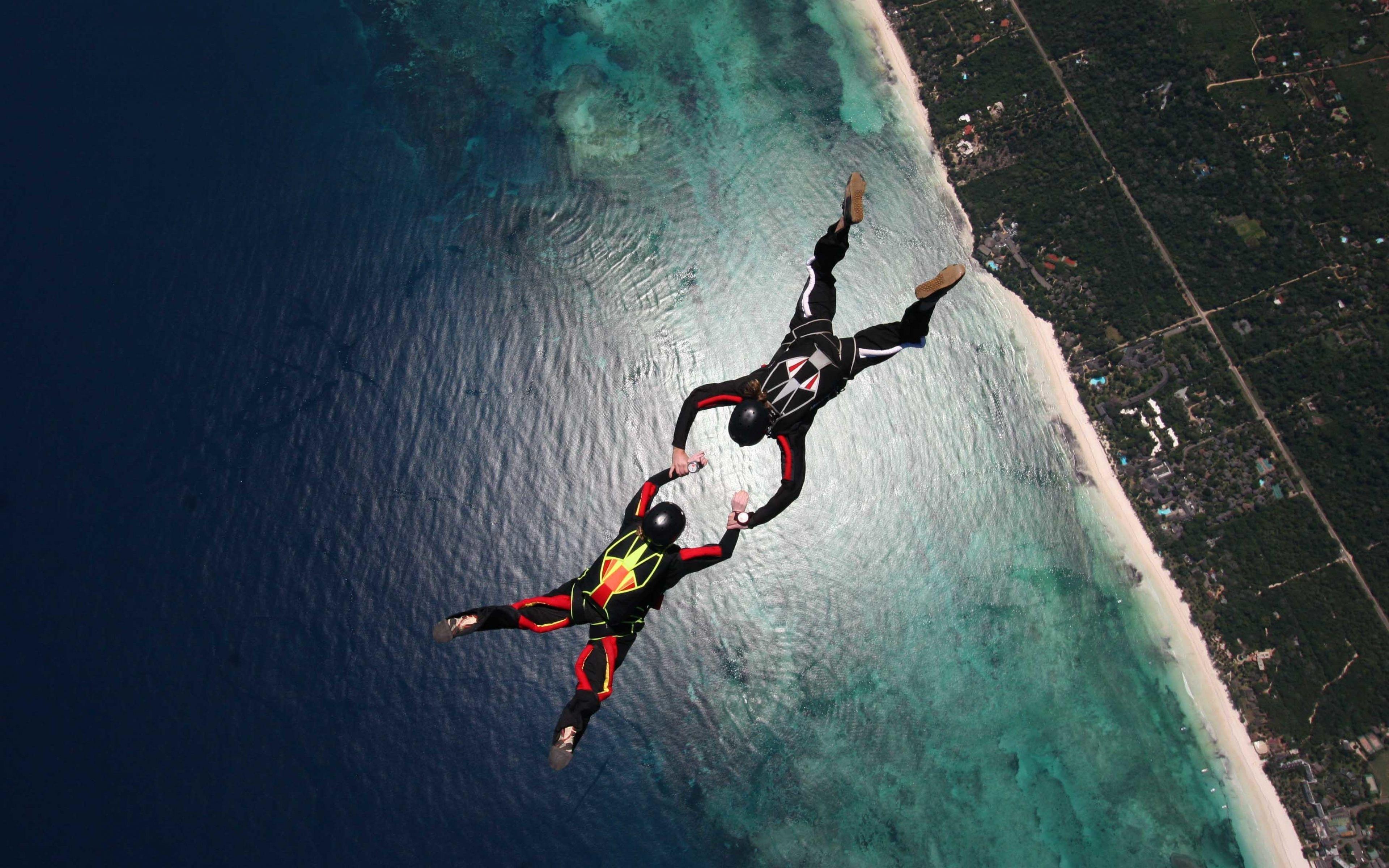 sky diving adventure sports 4k ultra hd wallpaper | ololoshenka