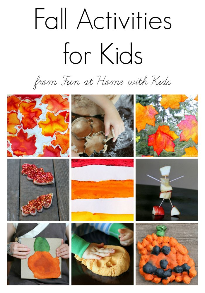 15 Easy Fall Activities For Kids Fun At Home With Kids Blog