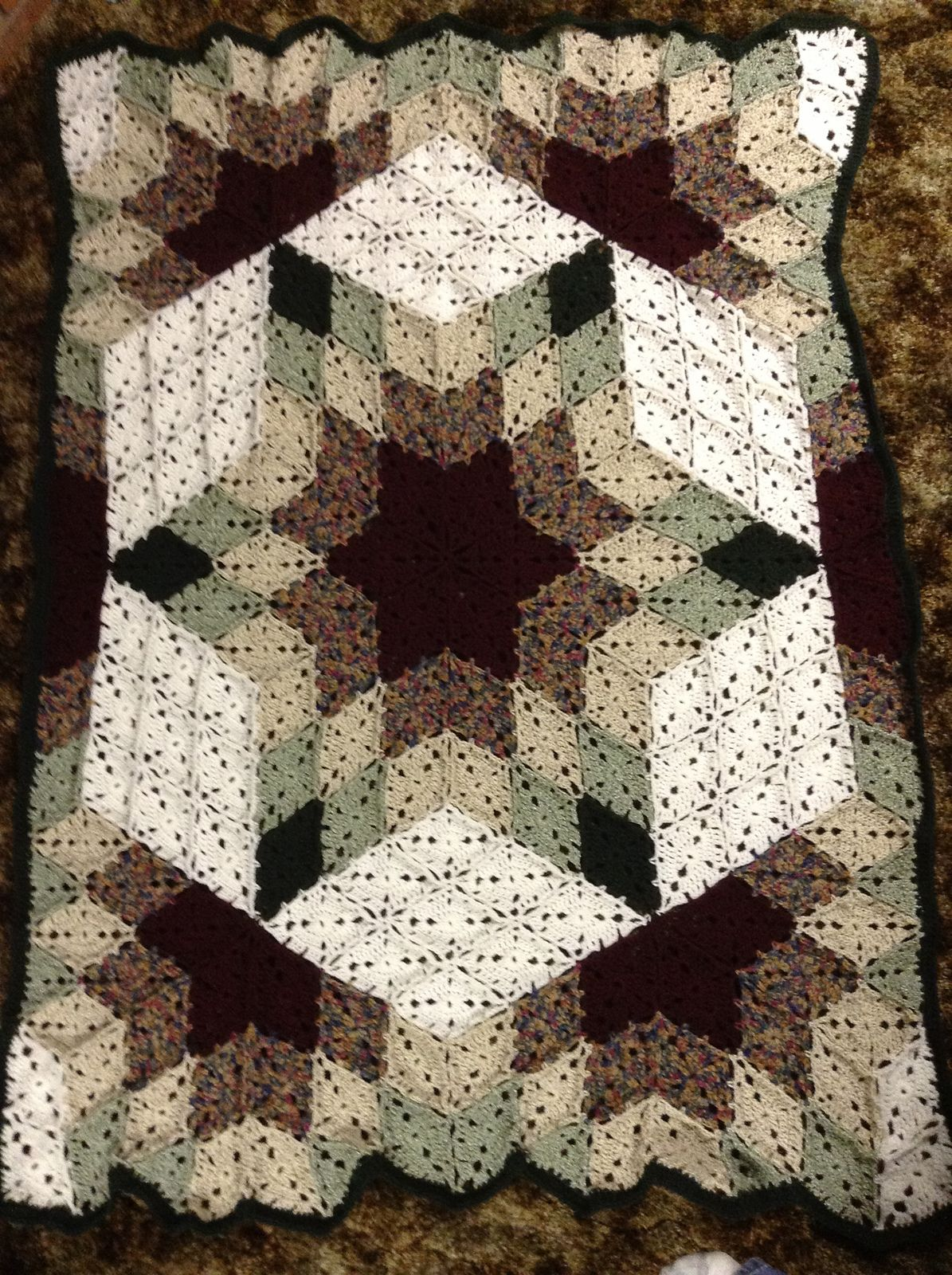 Ravelry desert star prairie star throw by marilyn coleman and ravelry desert star prairie star throw by marilyn coleman and mary jane protus bankloansurffo Image collections
