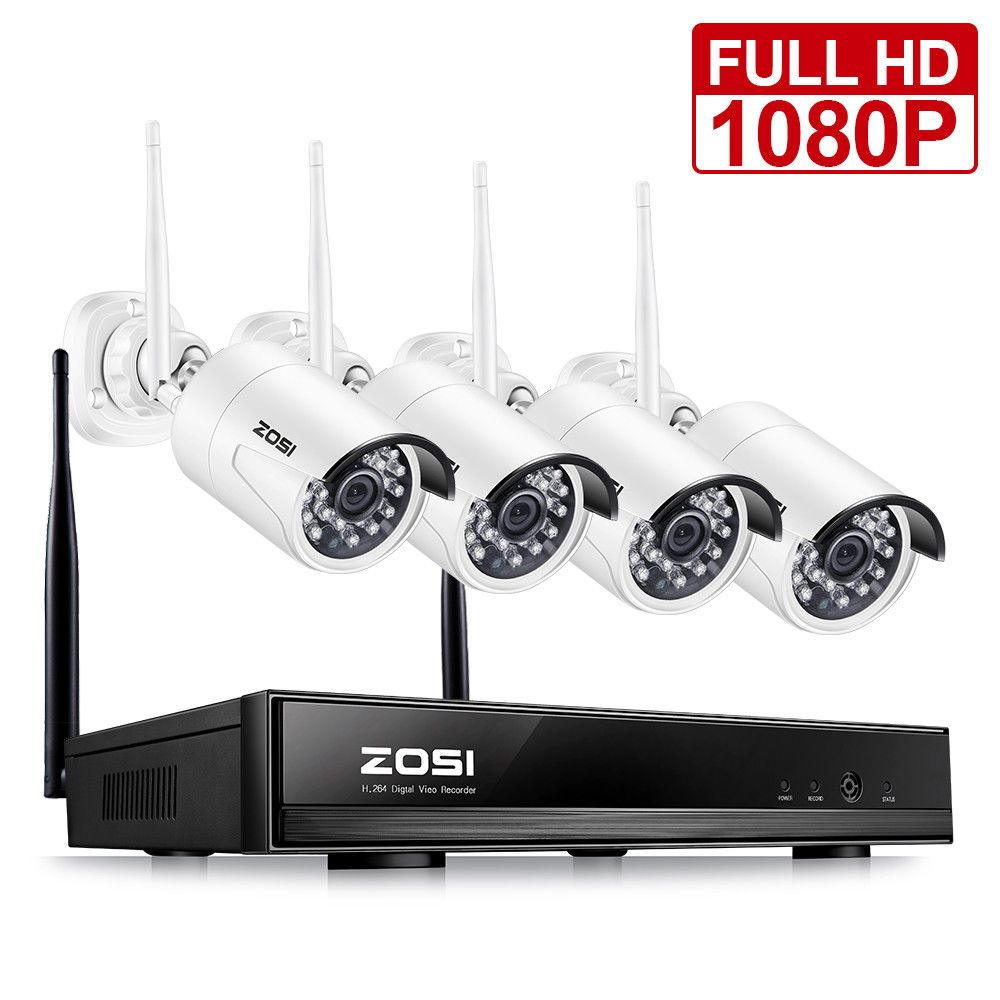 Top 10 Best Outdoor Wireless Security Camera System With Dvr In Rev Wireless Home Security Systems Wireless Security Camera System Home Security Camera Systems