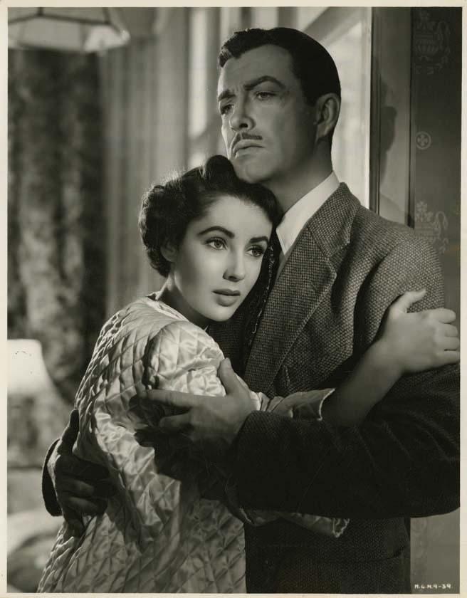 Robert Taylor and Elizabeth Taylor
