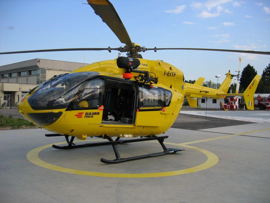 Elicottero 118 : Catania precipita elicottero del lettera