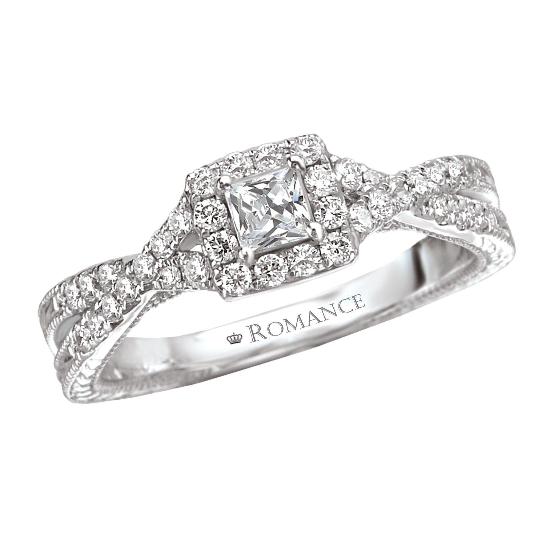 White Gold Princess Cut Wedding Rings Unique Ipunya Home Princess Wedding  Ring Cushion Pictures