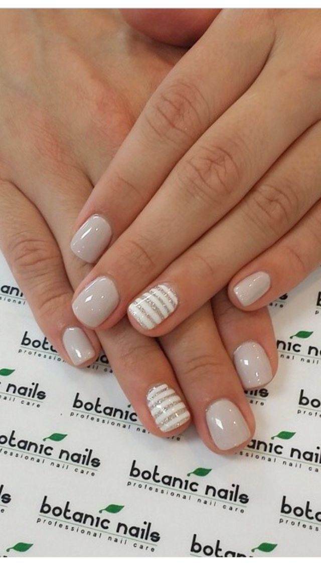 Simple Neutral and Minimal nail design | NAILS | Pinterest | Minimal ...
