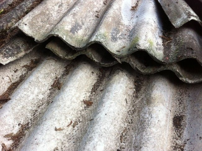 Site Clearance And Cleaning Services From Site Safe Facilities Asbestos Mesothelioma Garage Roof