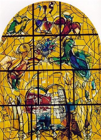 Chagall windows - Levi - Hadassah Medical Center